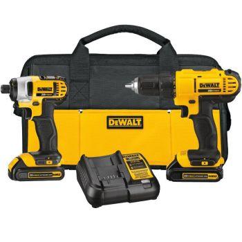 DEWALT 20-volt MAX 2 Tool Combo Kit