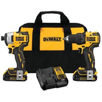 DEWALT 20V MAX* Brushless Compact 2-Tool Combo Kit