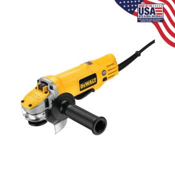 DEWALT 4-1/2 In. Paddle Switch Small Angle Grinder