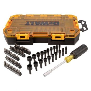 DEWALT 70 piece 1/4 In. Multi-Bit & Nut Driver Set