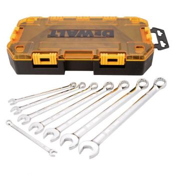 DEWALT 8 piece Combination Wrench Set (SAE)