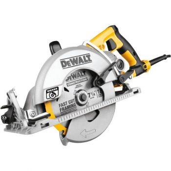 DEWALT 7-1/4 In. (184mm) Worm Drive Circular Saw with Electric Brake